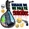 Essaie de ne pas te suicider !!!