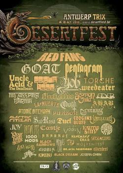 Desertfest Anvers 2016