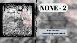 NONE #2 - RAVENSIRE - A Stone Engraved in Red