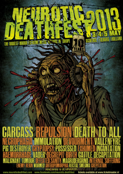 Neurotic Deathfest 2013