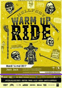 Warm Up Ride Hellfest 2017