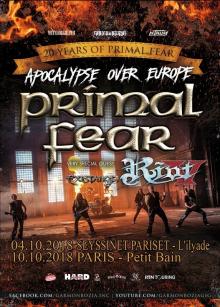 Primal Fear + Riot V