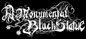 A Monumental Black Statue
