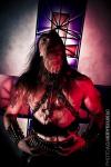 Azarath pour l'album ''Blasphemers' Maledictions''