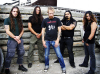 "Nightrage pour l'album ""Descent into Chaos"""