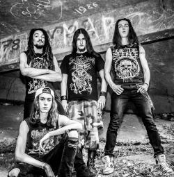 """Bloody Alchemy pour l'album """"Kingdom Of Hatred"""""""