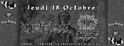 MYRKVID POUR LA TOURNEE 20 YEARS OF CHAOS
