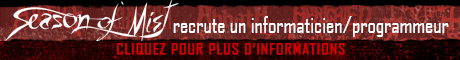 Season of Mist recrute