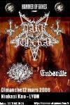 Dark Funeral + Naglfar + Endstille + Amoral + Otargos