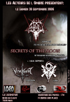 Secrets of the Moon + Antaeus + Vorkreist + oOo
