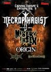 Necrophagist + Misery Index + Origin + Diskreet