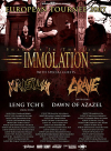 Immolation + Krisiun + Grave + Dawn Of Azazel