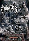 Sinister + Grimness 69 + Genital Grinder + Tales Of Blood + Corrosive Elements