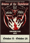 Enslaved + Keep of Kalessin + Watain + Impiety