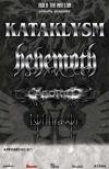 Behemoth + Kataklysm + Aborted + Lyfthrasyr