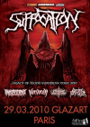 Suffocation + Annotations Of An Autopsy + Nervecell + Fleshgod Apocalypse + Burning The Masses