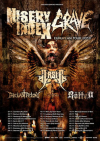 Misery Index + Grave + Arsis + The Last Felony + The Rotted