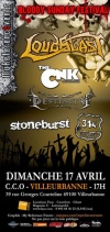 Loudblast + The CNK + Destinity + Stoneburst + 314 Project