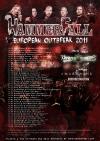 HammerFall + Vicious Rumors + Amaranthe + Death Destruction