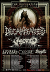 Decapitated + Aborted + Fleshgod Apocalypse + Cyanide Serenity + Archspire