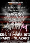 Reborn Of Death European Tour 2012