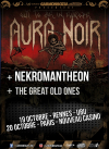 Aura Noir + Nekromantheon + The Great Old Ones