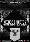 Necros Christos + Grave Miasma + Aluk Todolo