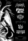 Enthroned + Mortuary Drape + Archgoat + Lvcifyre + Bestial Raids + Possession