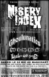Misery Index + Ghoulunatics + Minds + Wisdom Gone