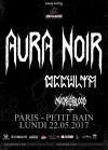 Aura Noir + Necroblood + Occvlta
