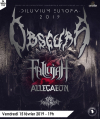 Fallujah + First Fragment + Obscura