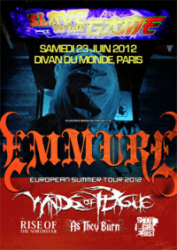 Emmure + As They Burn + Rise of the Northstart + Shoot the Girl First