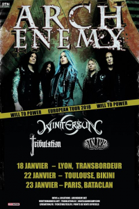 Arch Enemy + Wintersun