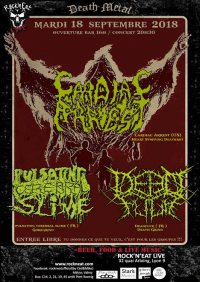 Cardiac Arrest + Deadfuck + Pulsating Cerebral Slime