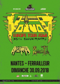 Voivod 35th Anniversary European Tour