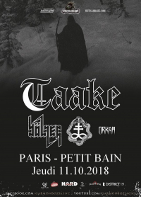 Bölzer + One Tail, One Head + Orkan + Taake