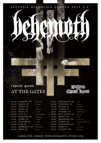 At The Gates + Behemoth + Wolves In The Throne Room