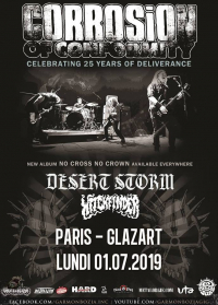 Corrosion Of Conformity + Desert Storm + Witchfinder