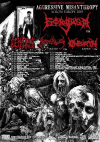 Anaptosis + Cenotaph + Gorgasm + Unbirth + Darkall Slaves